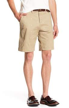 Jachs Bleeker Fit Embroidered Shorts