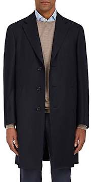 Canali Men's Kei Wool Flannel Topcoat