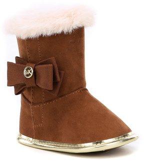 MICHAEL Michael Kors Girls Baby Baba Crib Shoe Boots