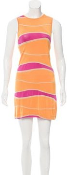Dirk Bikkembergs Sleeveless Striped Dress w/ Tags