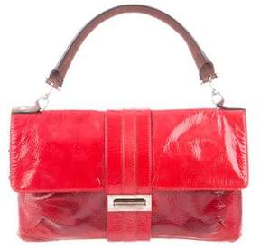 Lanvin Patent Leather Hero Satchel