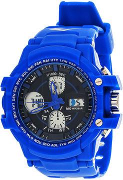 Everlast Mens Blue Strap Analog/Digital Sport Watch