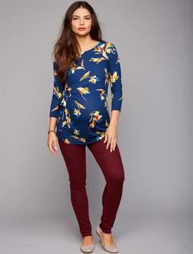 A Pea in the Pod Articles Of Society Secret Fit Belly Twill Skinny Leg Maternity Pants