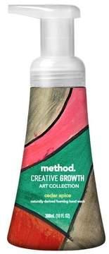 Method Products Creative Growth Limited Edition Foaming Hand Soap Cedar Spice - 10 fl oz