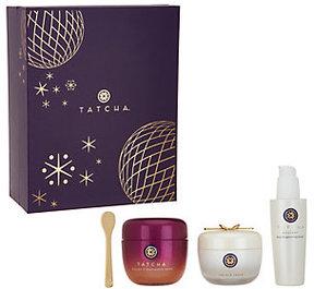 Tatcha Bright & Radiant 3-piece Holiday Gift Set