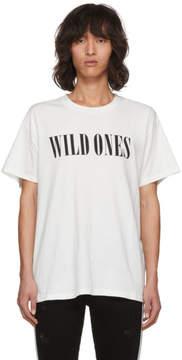 Amiri White Wild Ones T-Shirt