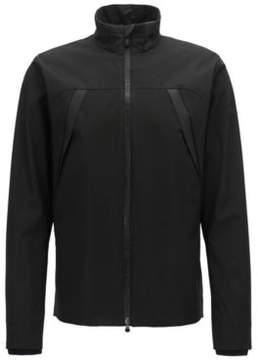 BOSS Hugo Water-Repellent Micro-Dot Jacket Jomber Pro L Black