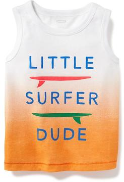 Old Navy Graphic Crew-Neck Tank for Baby
