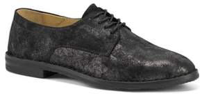Trask 'Ana' Metallic Leather Oxford