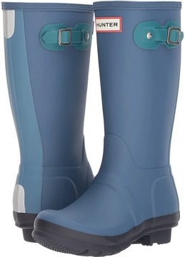Hunter Original Contrast Sole Rain Boots Kids Shoes