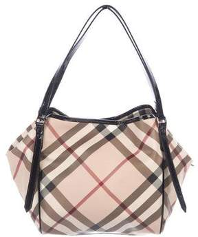 Burberry Super Nova Check Small Canterbury Tote