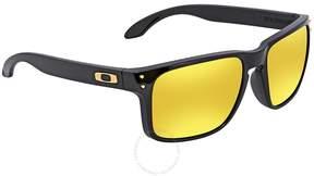 Oakley Holbrook 24K Iridium Prizm Square Sunglasses OO9102 9102E3