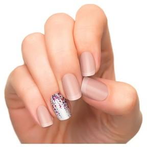 Incoco Shimmer Design Nail Polish Applique Budding Romance 4ct