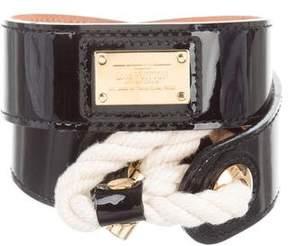 Louis Vuitton Vernis Inventeur Rope Belt