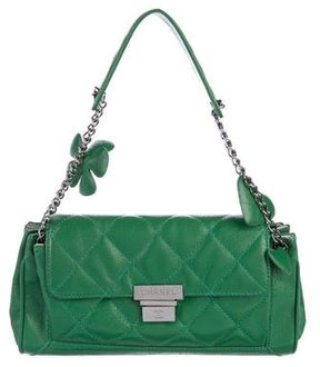 Chanel Quilted Accordion Flap Bag