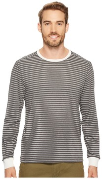 Agave Denim Fish Long Sleeve Crew Recycled Yarns Men's Clothing