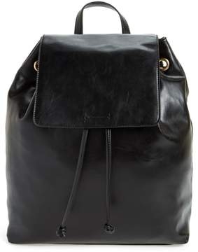 Sole Society Carly Slouchy Faux Leather Backpack