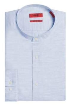 HUGO Boss Cotton Sport Shirt, Regular Fit Eddison W M Light Blue