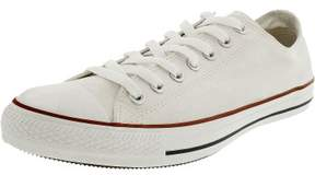 Converse Chuck Taylor All Star Core Low Top Canvas White Ankle-High Rubber Fashion Sneaker - 11.5M / 9.5M