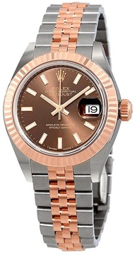 Rolex Lady Datejust Chocolate Dial Automtic Ladies Watch