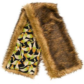 No.21 faux fur stole