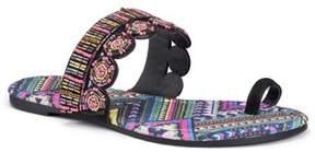 Muk Luks Women's Farrah Toe Loop Sandal