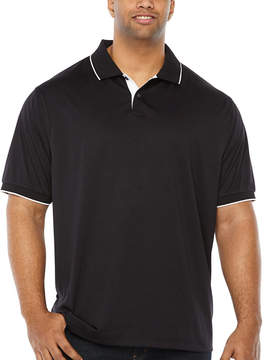 Claiborne Short Sleeve Jersey Polo Shirt Big and Tall