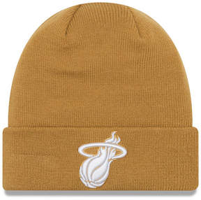 New Era Miami Heat Fall Time Cuff Knit Hat