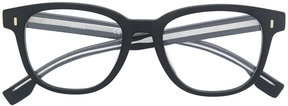 HUGO BOSS rounded frame glasses
