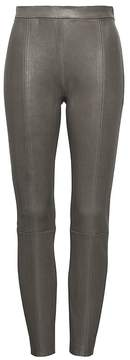 Banana Republic Heritage Devon Legging-Fit Stretch Leather Pant