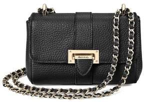 Aspinal of London Micro Lottie Bag In Black Pebble