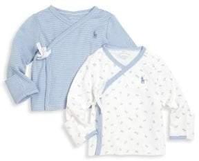Ralph Lauren Baby's Two-Piece Kimono Top Set