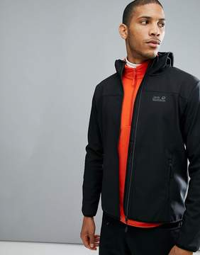 Jack Wolfskin Northern Point Softshell in Black