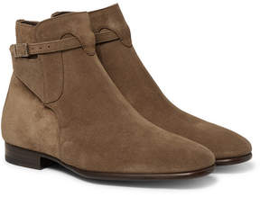 Tom Ford Gloucester Suede Jodhpur Boots
