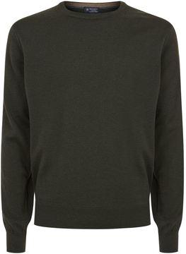 Hackett Crew Neck Cashmere-Blend Sweater