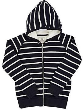 Scotch Shrunk Striped Cotton Hoodie