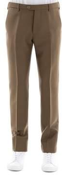 Berwich Men's Brown Wool Pants.