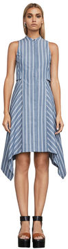 BCBGMAXAZRIA Calypso Striped Sleeveless Dress