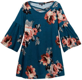 My Michelle mymichelle Floral Printed Dress (Big Girls)