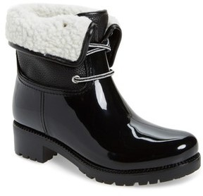 dav Women's Calgary Faux Shearling Water Resistant Boot
