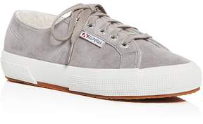 Superga Women's Classic Suede Lace Up Sneakers