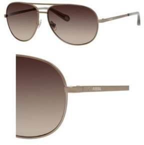 Fossil Sunglasses 3010 /S 0EQ6 Almond / Y6 brown gradient lens