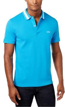 Lacoste Mens Cotton Rugby Polo Shirt Blue 3XL