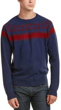 Qi Cashmere Fairisle Sweater.