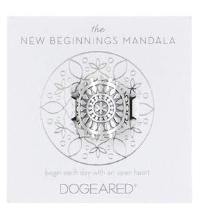Dogeared The New Beginnings Mandala Ring - Size 5