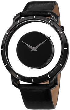 Akribos XXIV Mens Black Strap Watch-A-412bk