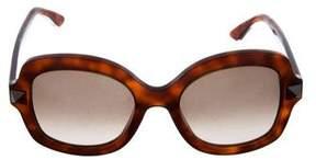 Valentino Oversize Rockstud Sunglasses