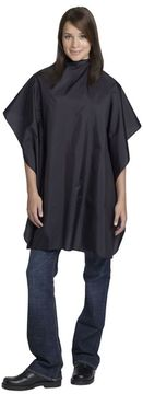 Andre Solid Black Nylon Styling Cape