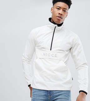 Nicce London tall overhead jacket in reflective exclusive to asos
