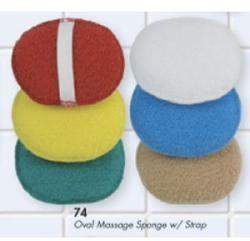 Oval Massage Sponge with Strap by Swissco